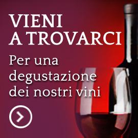 Vieni a trovarci. Per una degustazione dei nostri vini