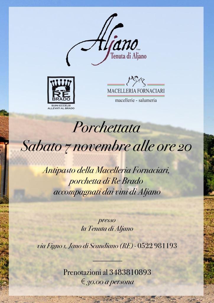 Porchetta 7 Novembre ad Aljano