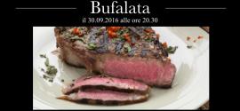 30 Settembre: Bufalata