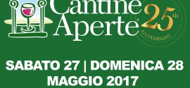CANTINE APERTE at Aljano on May Saturday 27th and Sunday 28th 2017