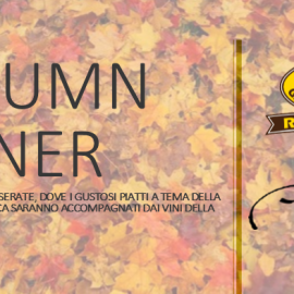 Autumn Dinner: 4 serate
