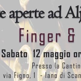 sabato 12 maggio: Finger & Jazz